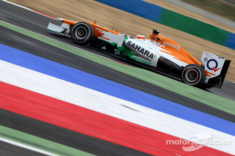 Jules Bianchi fastest on day two at Magny-Cours