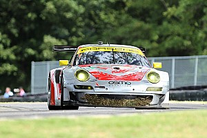 ALMS Race report Flying Lizard gets fourth podium of 2012