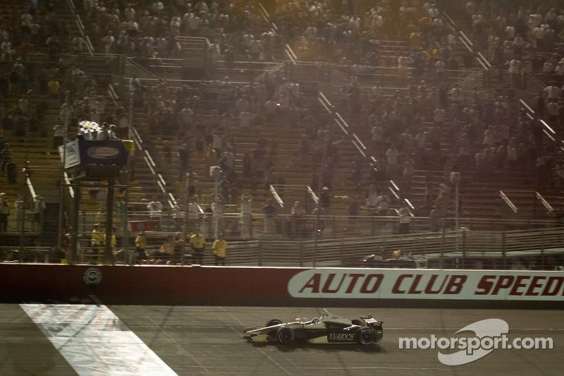 Chevy Indycar at Fontana: Team Chevy Driver Post Race Quotes