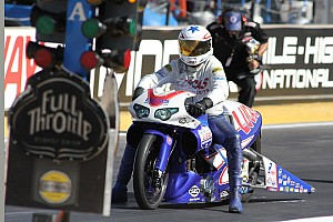 NHRA Qualifying report Arana Jr. returns to his usual perch atop Pro Stock Motorcycle field at St. Louis