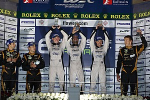 WEC Race report Podium finish, privateer honors for Strakka in Bahrain