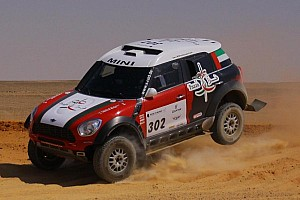 Cross-Country Rally Stage report The fight back falters  as Al-Mutaiwei extends Pharaons Rally lead on stage 3