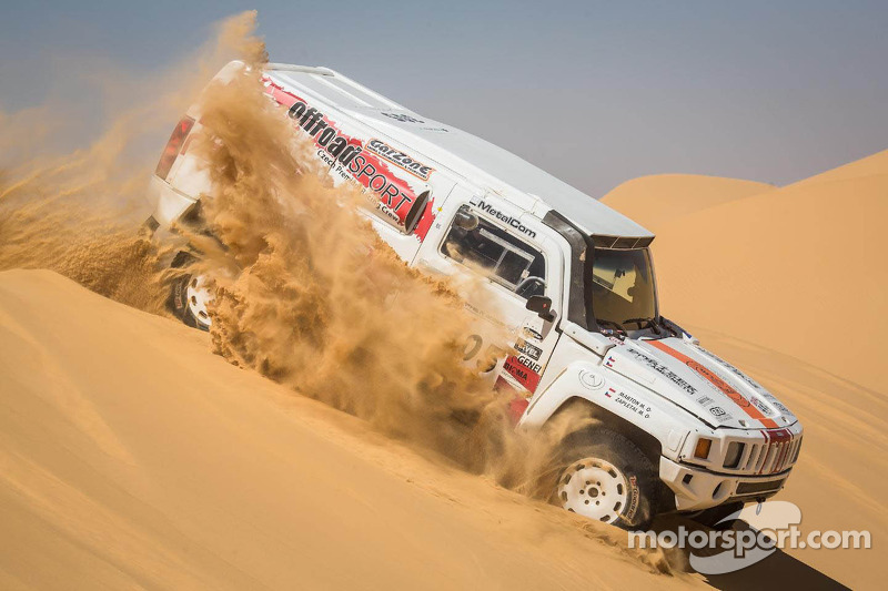 Chaotic day of Pharaons Rally changes the leaderboard