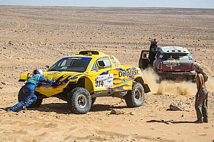 Cross-Country Rally Qualifying report Przygonski and Zapletal-Manciej take stage five wins in Pharaons rally