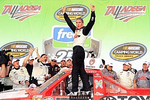 NASCAR Truck Race report Kligerman takes first career win at Talladega