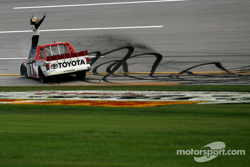 Kligerman takes RHR Toyota to win at Talladega