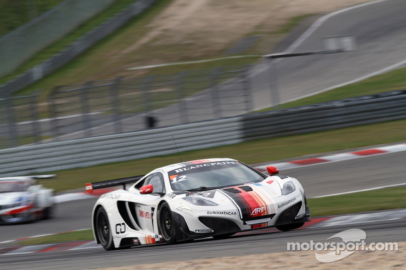 Duncan Tappy storms to  Blancpain win at Navarra