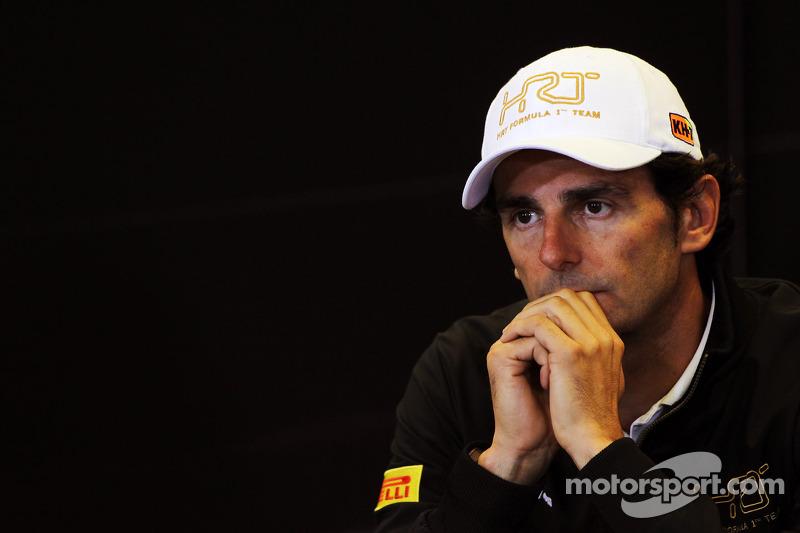 HRT boss says de la Rosa 'will drive for us in 2013'