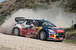 WRC Leg report The longest day for Hirvonen in Sardinia