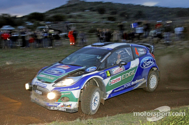 Solberg heads Ford 1-2 in Power Stage finale at Rally Italia