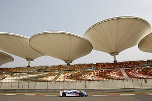 WEC Practice report Chinese fireworks from Toyota Racing