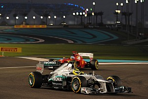 Formula 1 Qualifying report A positive qualifying day for Mercedes in Abu Dhabi