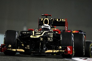 Formula 1 Race report Lotus F1 Team achieves first win of the season in Abu Dhabi GP