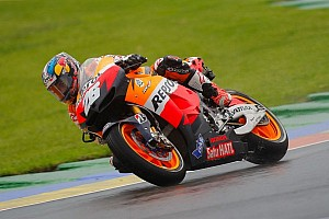 MotoGP Qualifying report Pedrosa takes final pole of the year in qualifying for Valencia GP