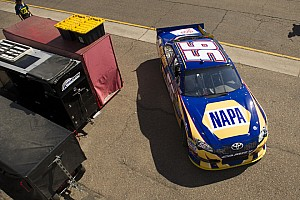 NASCAR Cup Qualifying report MWR dirver's have mixed qualifying results for Phoenix 500