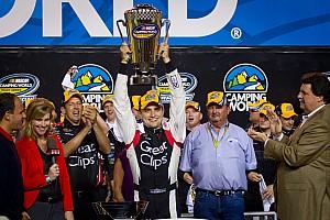 NASCAR Truck Breaking news Chevrolet driver Buescher earns NCWTS 2012 championship