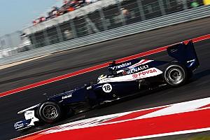 Formula 1 Qualifying report Maldonado qualified 10th and Senna 11th for US Grand Prix