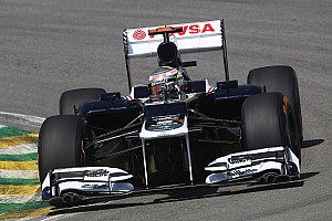 Formula 1 Practice report Williams has difficulties find the right balance on Friday practice at Interlagos