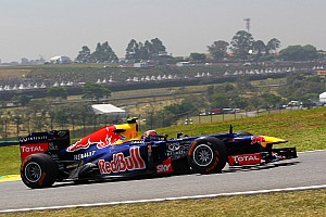 Formula 1 Qualifying report Red Bull will start the Brazilian GP with both drivers on the second row of the grid