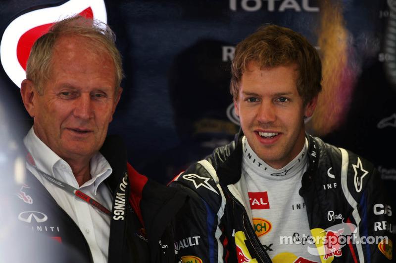 Red Bull denies report of 2016 deal for Vettel
