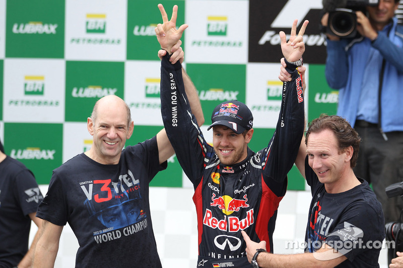 'Vettel always wins' in Newey cars - Marko