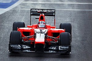 Formula 1 Breaking news Marussia officially announces Chilton for next season