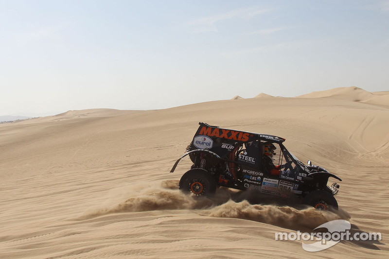 Maxxis Dakar Team has strong finish in stage 2