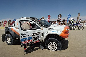 Dakar Stage report The G-Force Motorsport rookies have ups and downs in stage 3