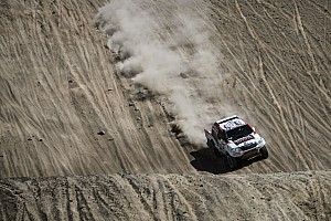 Dakar Stage report Toyota's De Villiers still in third after marathon stage 6