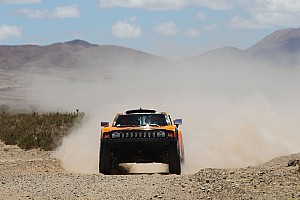 Dakar Stage report Gordon and Walch placed the Hummer third in stage 7