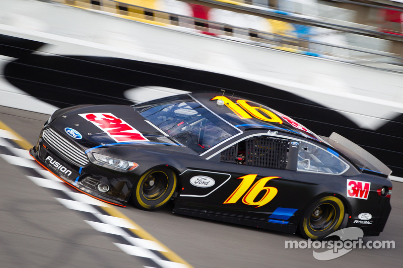 Biffle posts fastest single-car lap in Daytona testing