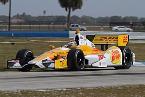 IndyCar Interview Ryan Hunter-Reay focused on another championship