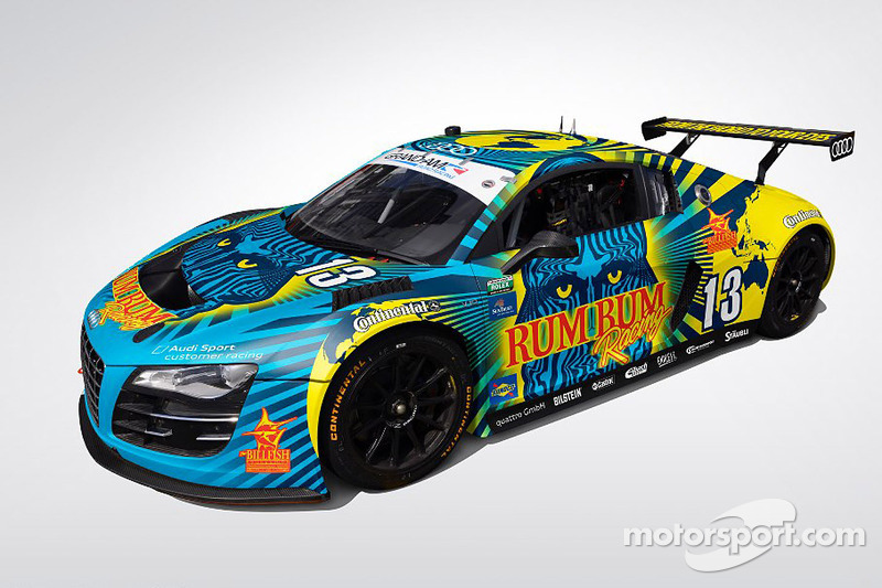 Rum Bum Racing reveals 2013 Rolex 24 Livery