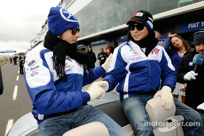 The Yamaha Factory Racing Dream Team touch down in Indonesia