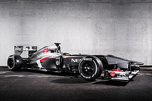 Formula 1 Breaking news Sauber F1 unveils their C32 challenger for the 2013 season - video