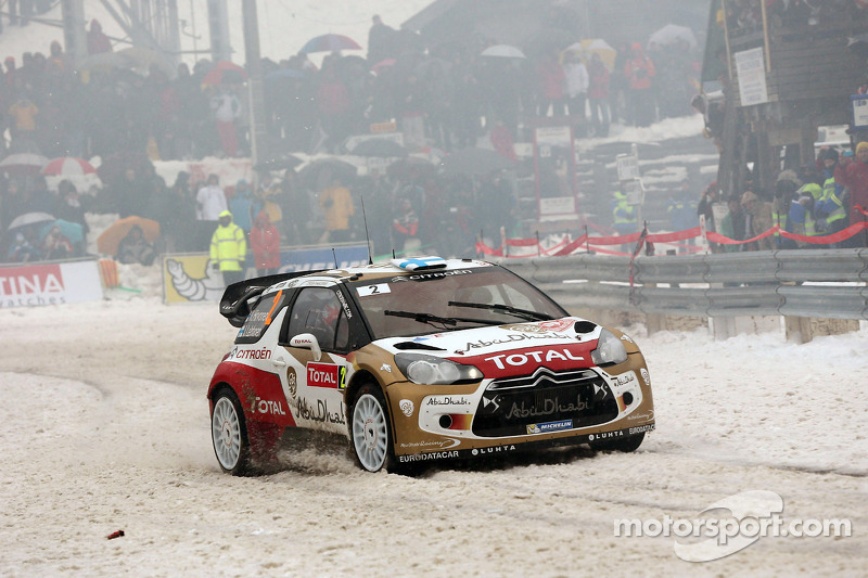 Rally Sweden - Four Citroen aces on ice