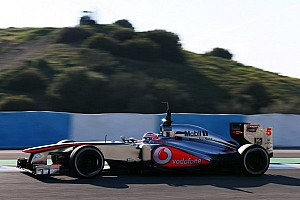 Formula 1 Breaking news Button stuns rivals with Jerez pace