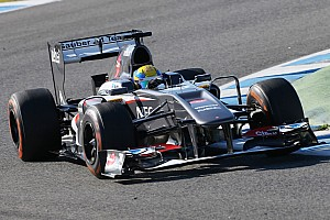 Formula 1 Testing report Gutiérrez completed 142 laps in the Sauber C32 on day 4 in Jerez