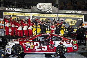 NASCAR Cup Race report Winner Harvick and other Chevrolet drivers comment on Daytona Unlimited