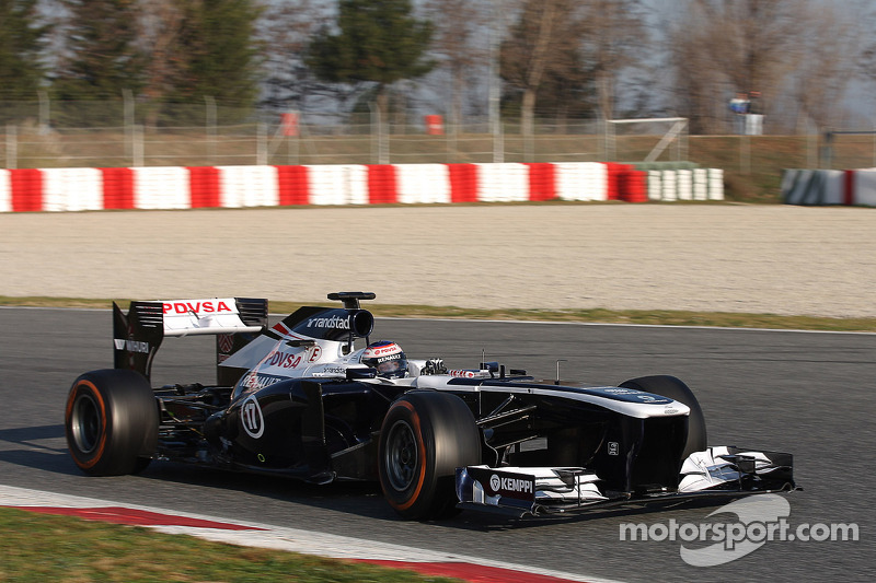 Williams' Bottas has trouble-free second day test at Barcelona