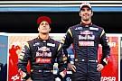 Toro Rosso teammates no longer friends