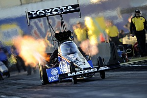 NHRA Qualifying report Antron Brown No. 2 Top Fuel qualifier at Phoenix