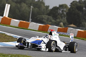 GP3 Testing report Trident Racing hits the top in Estoril test