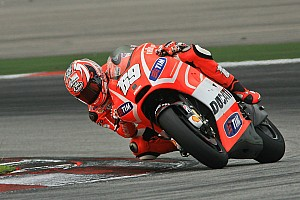 MotoGP Testing report Positive second day for Ducati Team at Sepang