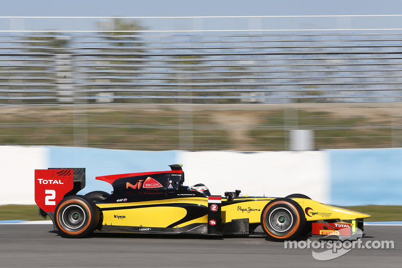 Richelmi always at the Top of the ranking in the three days of tests in Jerez