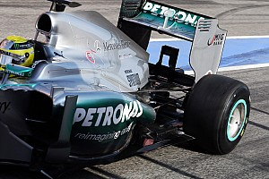 Formula 1 Testing report Mercedes' Rosberg set's fastest time on final day in Barcelona