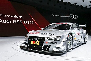 DTM Breaking news World Premiere in Geneva: Audi RS 5 DTM