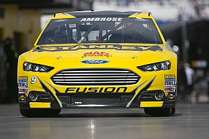 NASCAR Cup Preview Ambrose looks to repeat success at Bristol in the No. 9 Ford Fusion