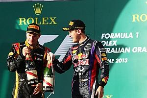 Formula 1 Commentary Raikkonen friendship can survive F1 battle - Vettel