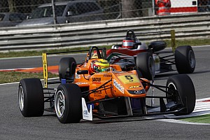F3 Europe Race report Wehrlein first and second position on Sunday in rainy Monza